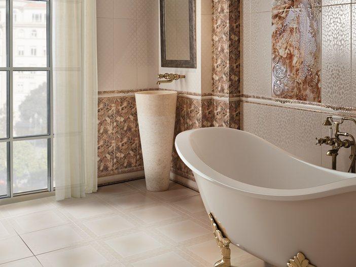 Купить керамическую плитку для ванной в Краснодаре