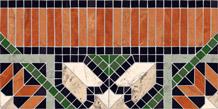 Бордюр 21,7*43,5 Cenefa Samos Multicolor