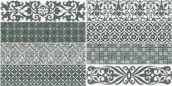Настенная плитка 8,15*33,15 Rev. Deco Bricktrend White (уп. 1,24 м2/ 46 шт)