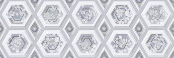 Настенная плитка 25*75 Rev. Amalfi XL Gris (уп. 1,5 м2/ 8 шт)