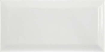 Настенная плитка 10*20 Biselado BX Blanco (уп. 1 м2/ 50 шт)