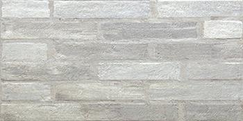 Настенная плитка 30,5*60,5 Brick Grey Relieve (уп. 1,1 м2/ 6 шт)
