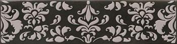 Декор 7,5*30 Decor Corquet Black