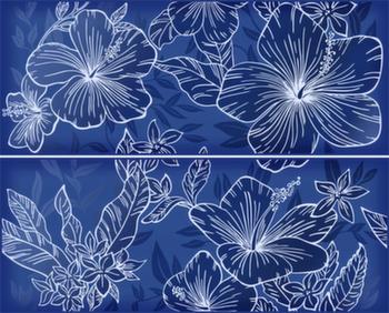 Панно 40,2*50,5 Elissa Fiore Blu