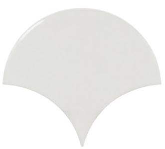 Настенная плитка 10,6*12 Fan White (уп. 0,37 м2/ 50 шт)