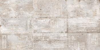 Керамогранит 61,5*121 Flatiron Decor White (уп. 1,49 м2/ 2 шт)