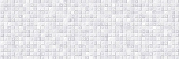 Настенная плитка 25*75 Rev. Glass Blanco (уп. 1,5 м2/ 8 шт)