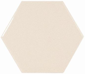 Настенная плитка 10,7*12,4 Hexagon (Cream) Ivory (уп. 0,5 м2/ 50 шт)