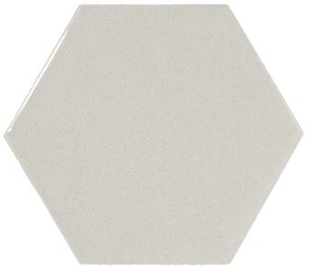 Настенная плитка 10,7*12,4 Hexagon Light Grey (уп. 0,5 м2/ 50 шт)