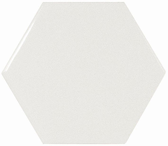 Настенная плитка 10,7*12,4 Hexagon White (уп. 0,5 м2/ 50 шт)