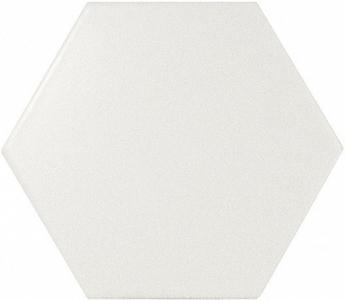 Настенная плитка 10,7*12,4 Hexagon White Matt (уп. 0,5 м2/ 50 шт)