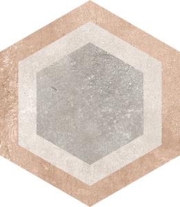 Керамогранит 23*26,6 Hexagono Bushmills Multicolor