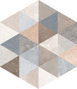 Керамогранит 23*26,6 Hexagono Fingal