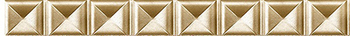 Бордюр 2,5*60 Mold. Gaudi Diamond Gold