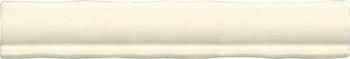 Бордюр 5*30 Mold. Ivory
