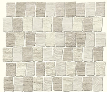 Мозаика 26*30 Mosaico Raw Allwood Grey