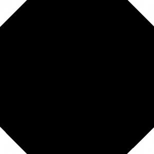 Напольная плитка 31,6*31,6 Octogono Negro