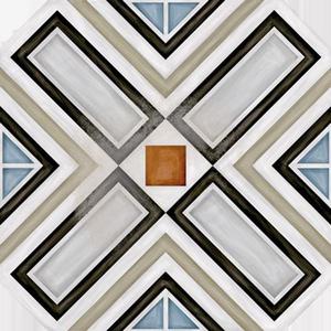 Керамогранит 20*20 Octogono Ritter Multicolor
