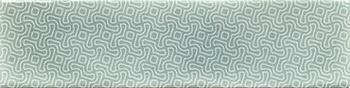 Настенная плитка 7,5*30 Opal Decor Turquoise (уп. 0,5 м2/ 22 шт)