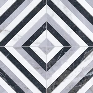 Напольная плитка 33,15*33,15 Pav. Velvet Geo Diamond (уп.1,32 м2/ 12 шт)