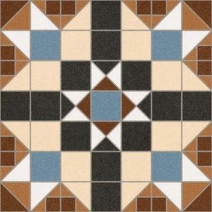 Напольная плитка 31,6*31,6 Dorset Marron