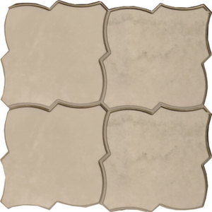 Напольная плитка 45*45 Pav. Carnaby Silver (уп. 1,4 м2/ 7 шт)
