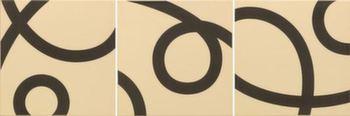 Декор 20*20 Pedrera-3 Basalto