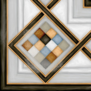 Декор 20*20 Pombo-3 Multicolor