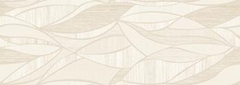 Настенная плитка 31,6*90 Rev. Decor Lino Blanco Hojas (уп. 1,14 м2/ 4 шт)