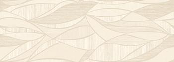 Настенная плитка 31,6*90 Rev. Decor Lino Crema Hojas (уп. 1,14 м2/ 4 шт)