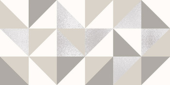 Декор 31,5*63 Stella Geometrico Marfil