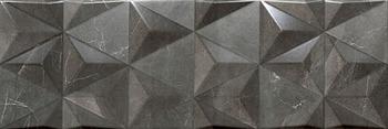 Настенная плитка 20*60 Valentina Anthracite Geometric (уп. 1,32 м2/ 11 шт)