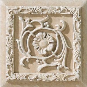 Декор 15*15 Villa Avorio Formella Tibur