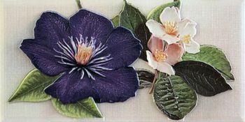 Бордюр 10*20 Violetta Cenefa-1 Morado