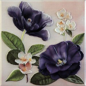 Декор 20*20 Violetta Placa Decor Morado