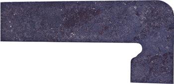 Плинтус правый 39,5*17,5 Zan. Metalica Basalt Derecha