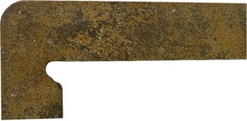 Плинтус левый 39,5*17,5 Zan. Metalica Vulcano Izquierda