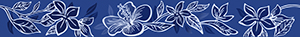 Бордюр 6,2*50,5 Elissa Fiore Blu