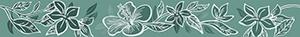 Бордюр 6,2*50,5 Elissa Fiore Mare