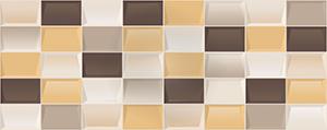Настенная плитка 20,1*50,5 Elissa Mosaico Marrone (уп. 1,32 м2/ 13 шт)