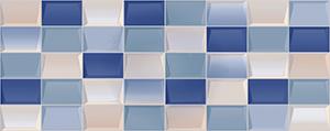Настенная плитка 20,1*50,5 Elissa Mosaico Blu (уп. 1,32 м2/ 13 шт)